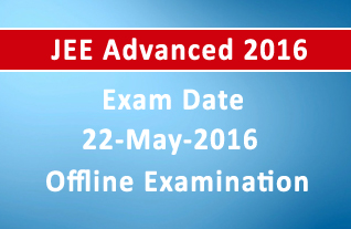 JEE Advanced 2016